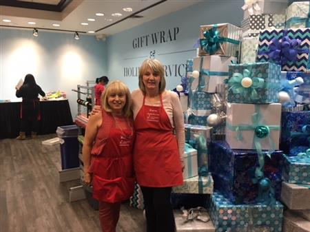 Wraping For A Cure Cystic Fibrosis Kinette Club Of