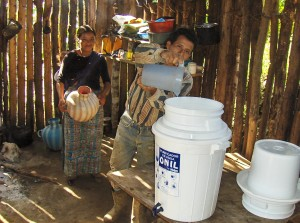 2009 Team--Family with Water Filter