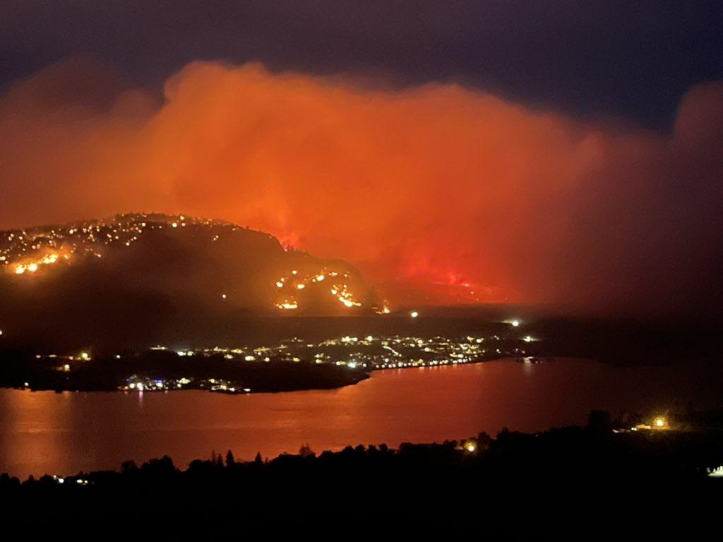 BC Wildfire - twitter