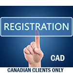 Registration for Canadian Clients only