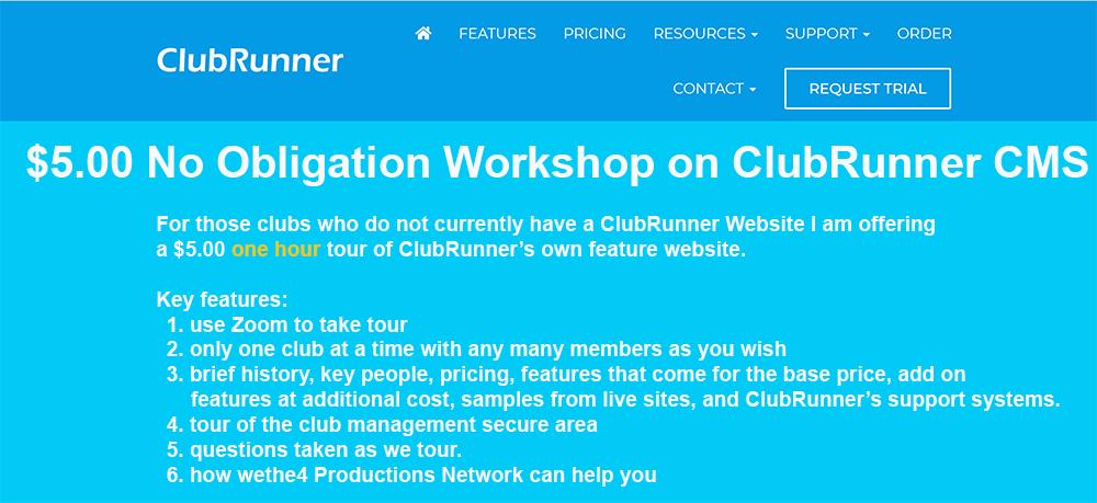 Free Module on ClubRunner