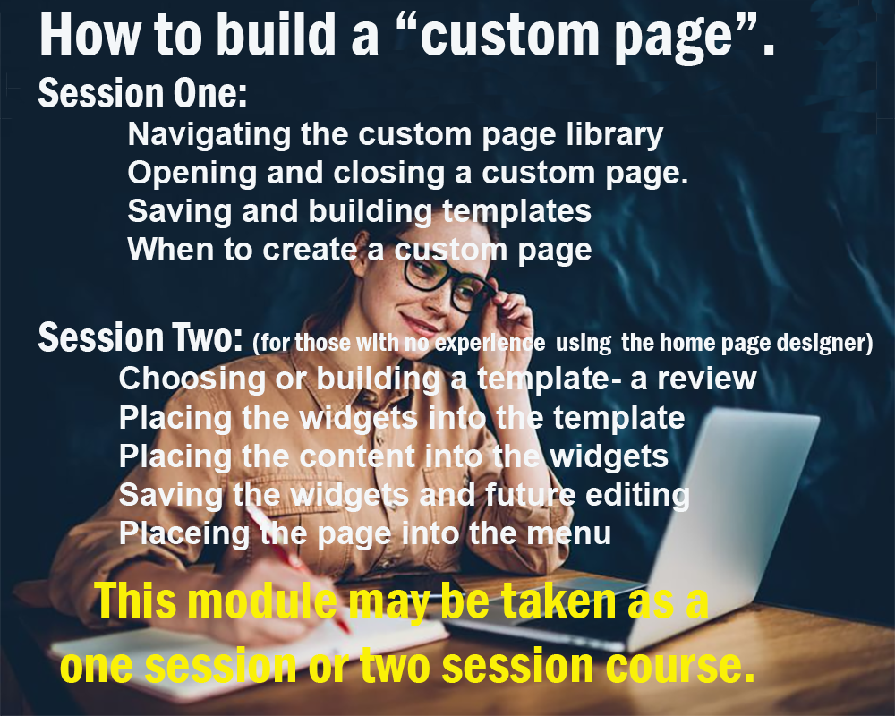 How to Build a Custom Page