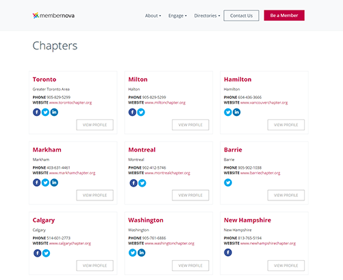 chapter directory