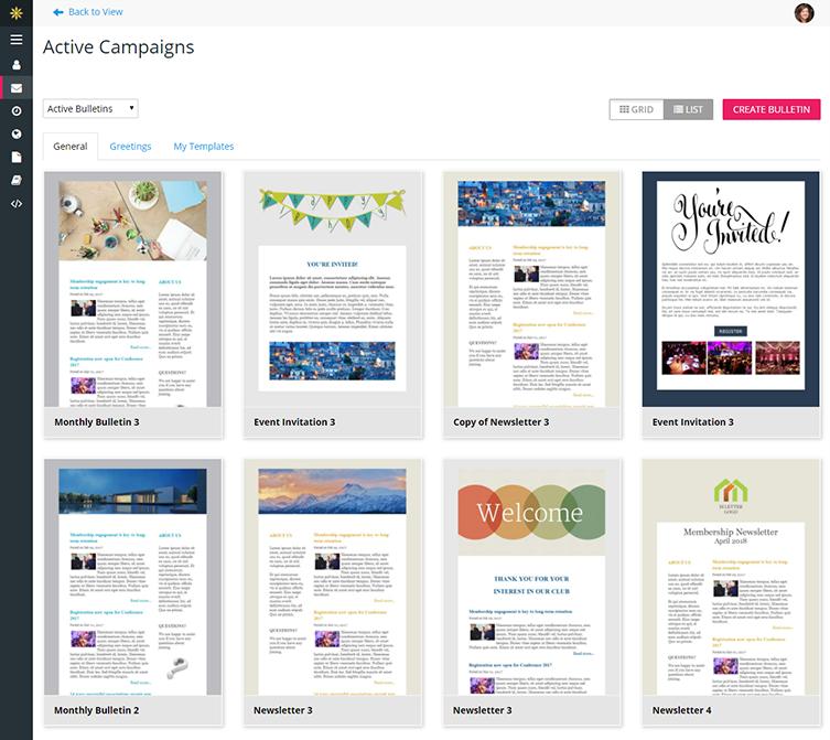 association email marketing newsletter management membernova
