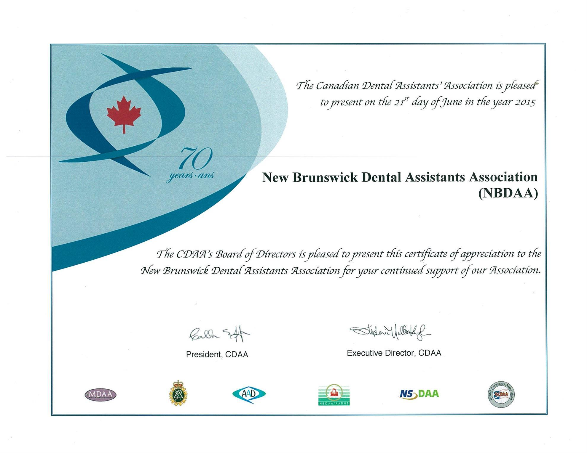 Home Page | New Brunswick Dental Association