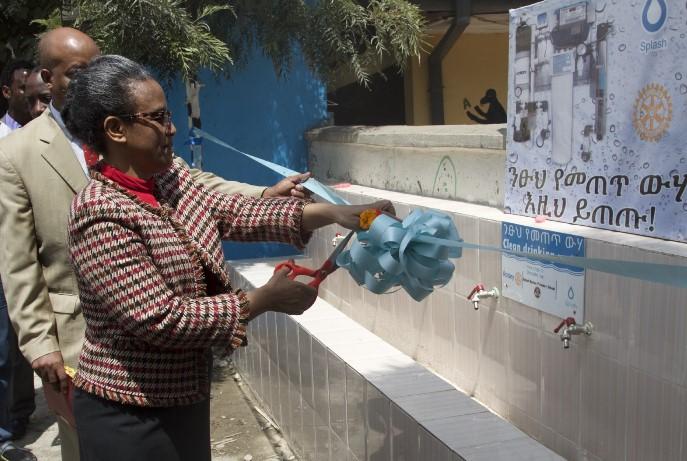 WASH in Addis Ababa | Water & Sanitation Rotarian Action Group
