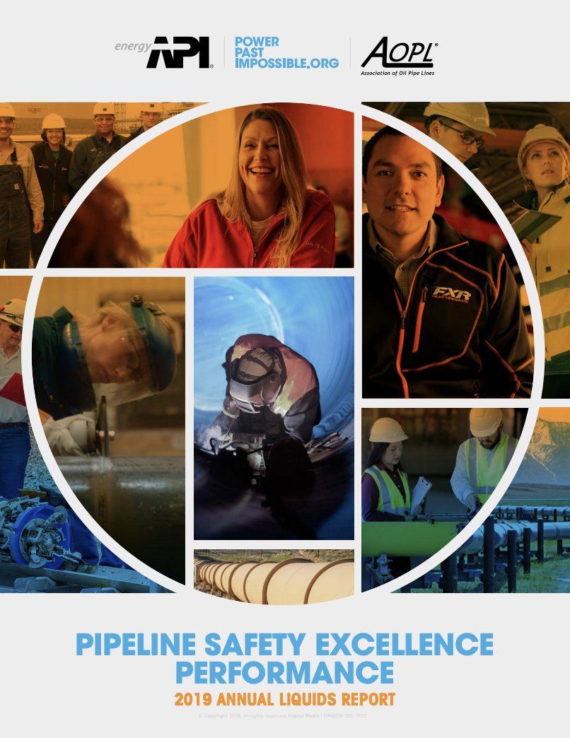 Pipeline Safety Excellence Performance Report