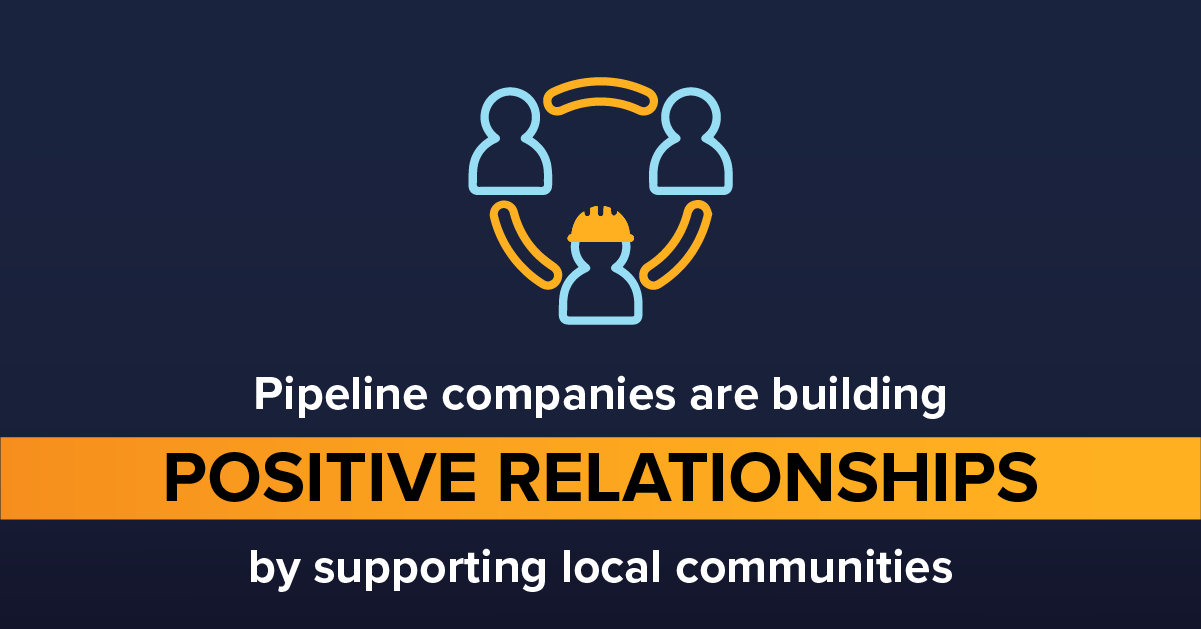 Pipelines Support Local Communities