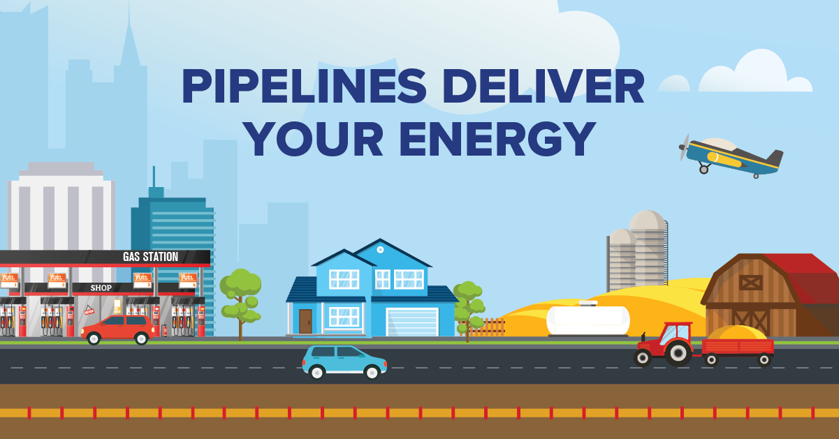 Pipelines Deliver Your Energy