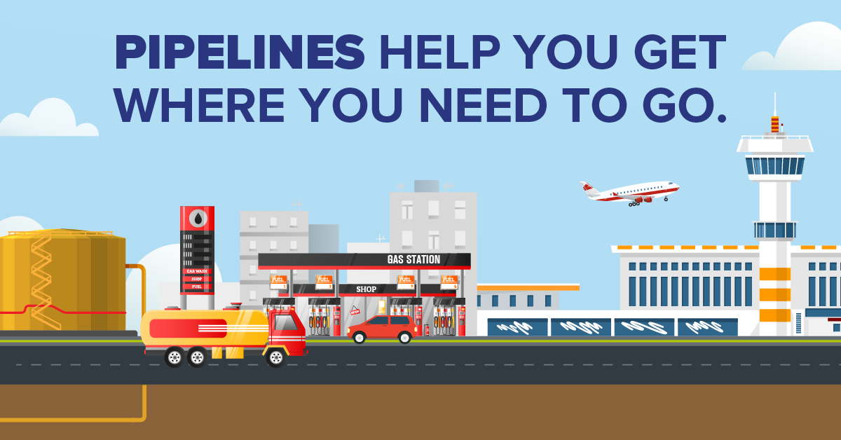 Pipelines Help You Get Where You Need to Go