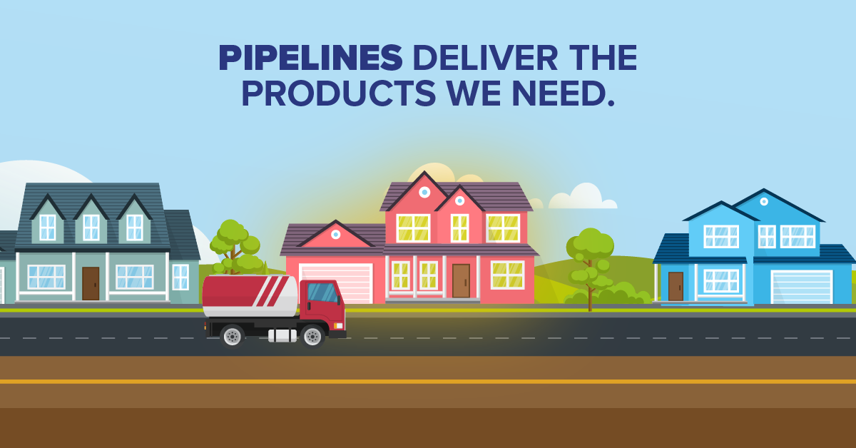 Pipelines Deliver The Products We Need