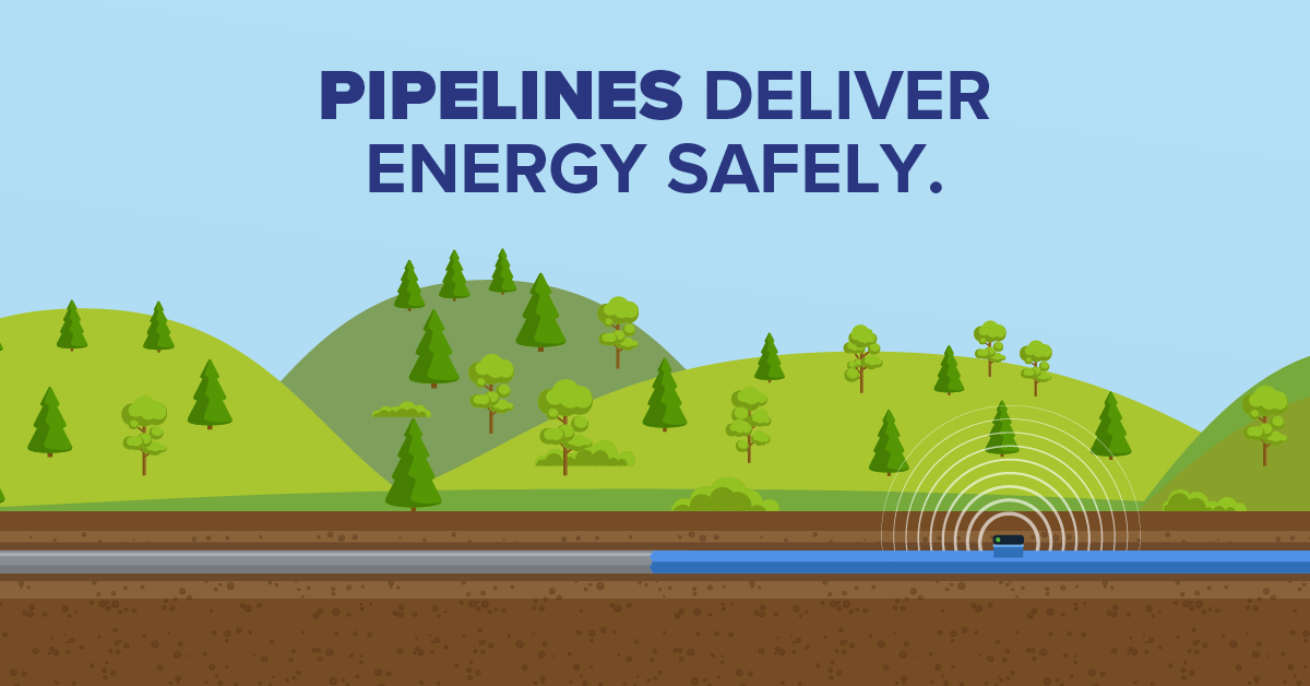 Pipelines Deliver Energy Safely