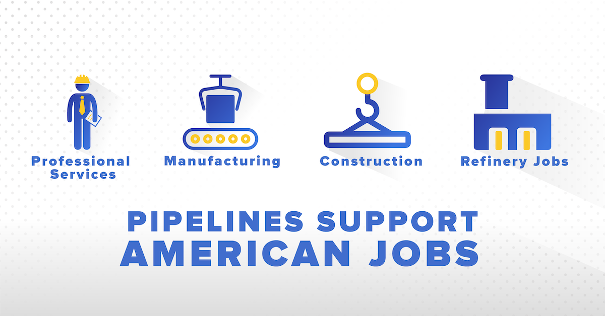 Pipelines support American jobs