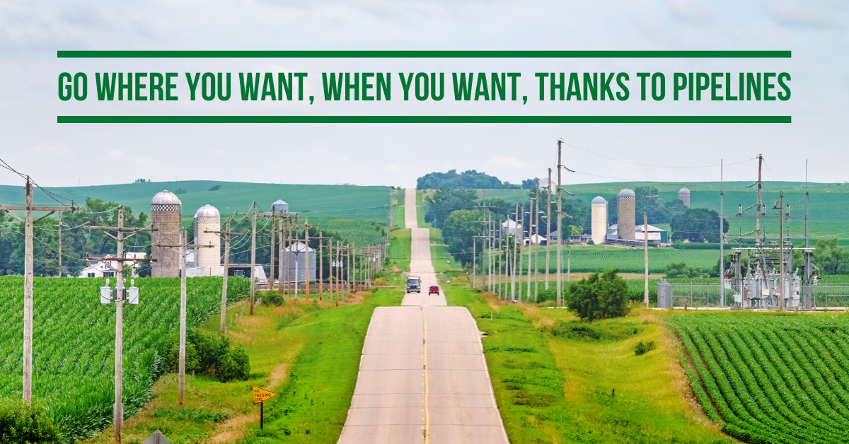 Go Where You Want, When You Want, Thanks to Pipelines