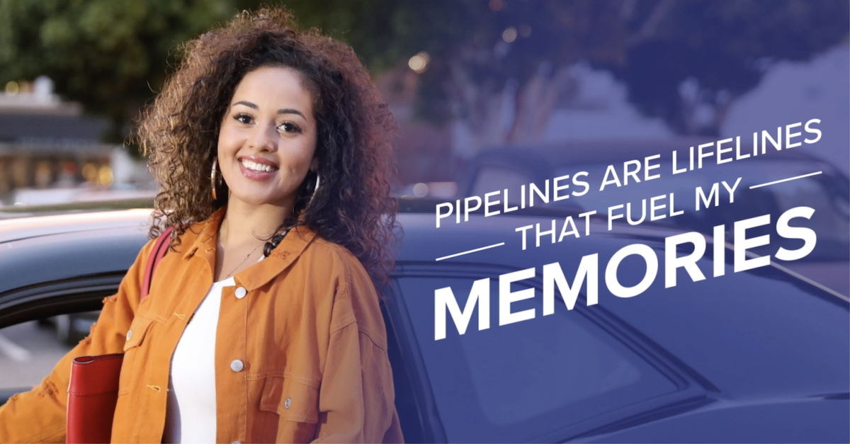Pipelines Fuel My Memories graphic