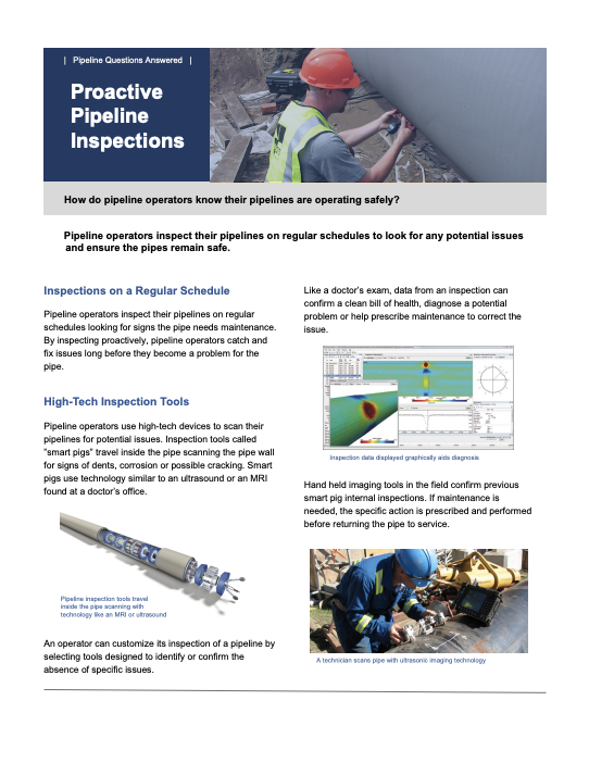Proactive Pipeline Inspections
