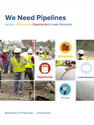 We Need Pipelines Report