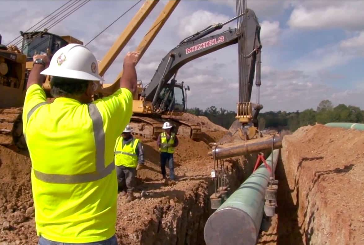 Pipeline operators in construction