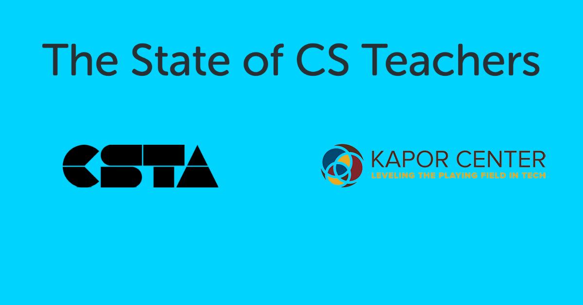 The State of CS Teachers Webinar