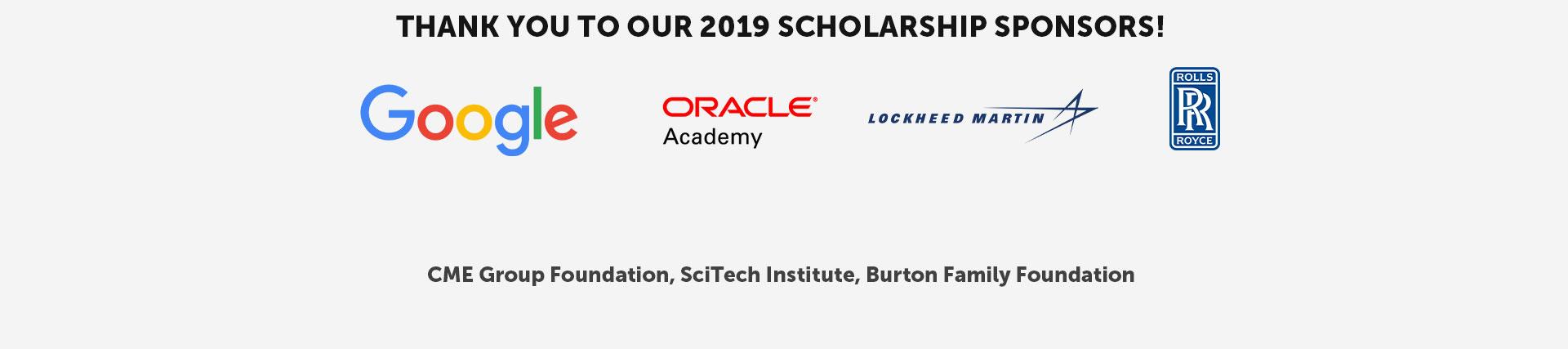 Scholarship Sponsors