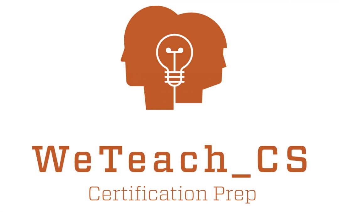 WeTeachCS logo