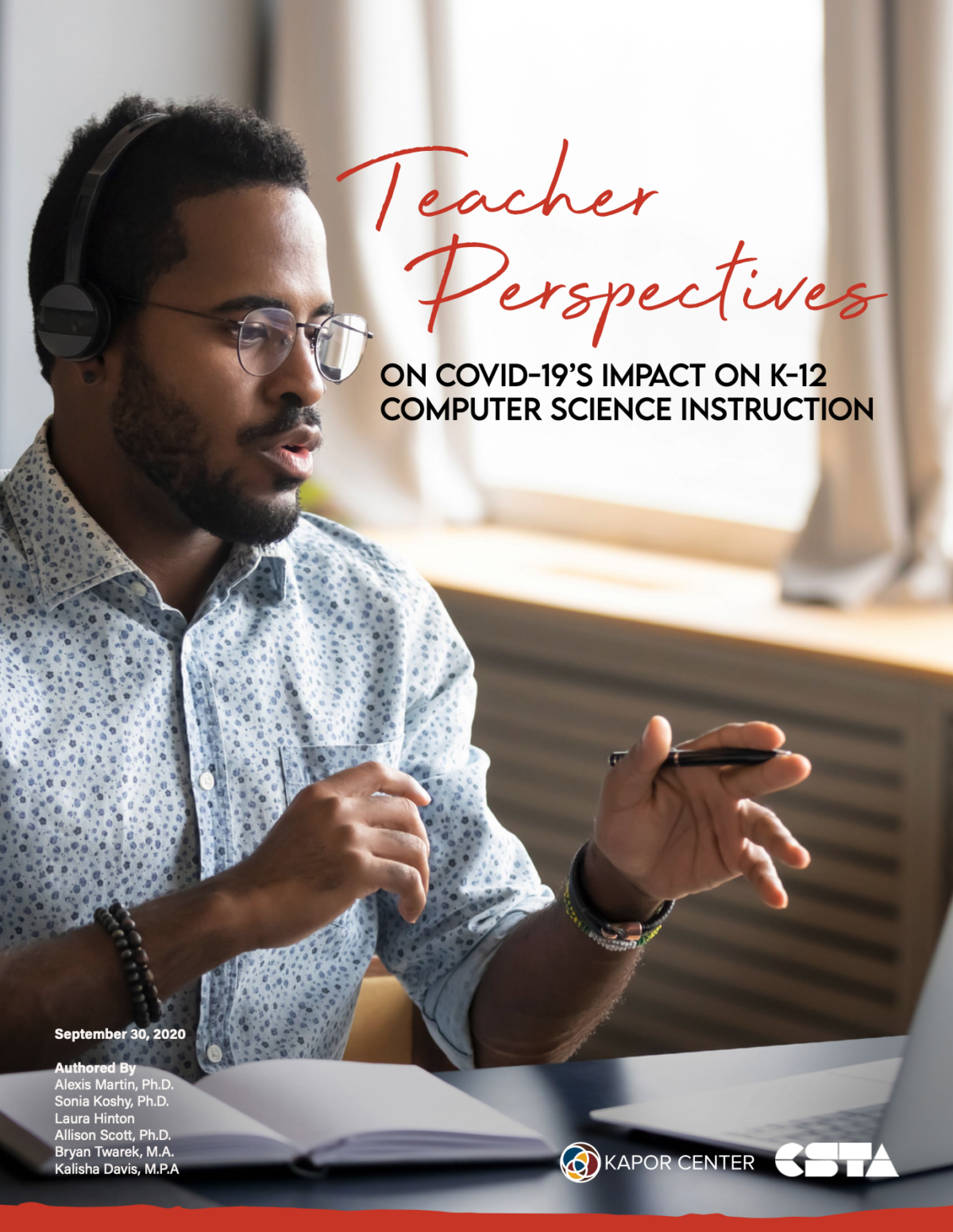 Teacher Perspectives Report Cover