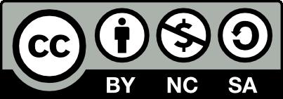 Creative Commons License: CC BY-NC-SA 4.0
