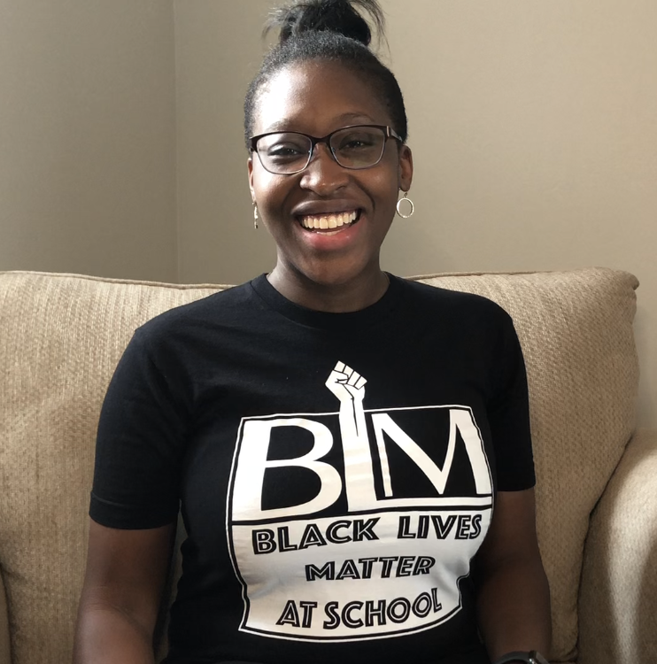 Charity in a Black Lives Matter at School T-Shirt