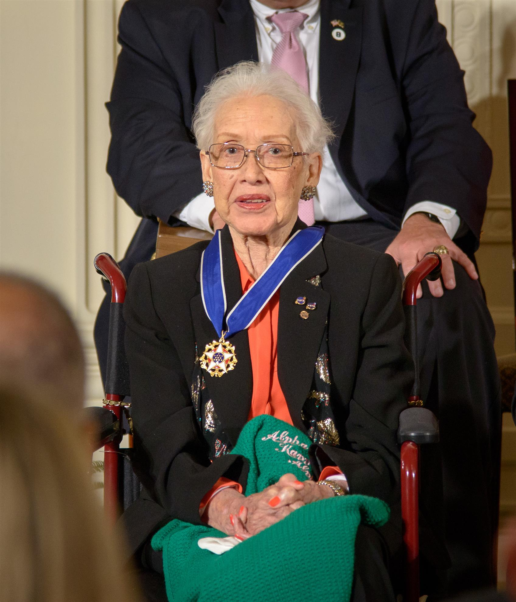 Katherine Johnson Presidential Medal of Freedom