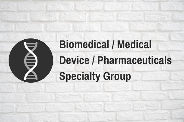 Biomed / Medical Device / Pharma Call