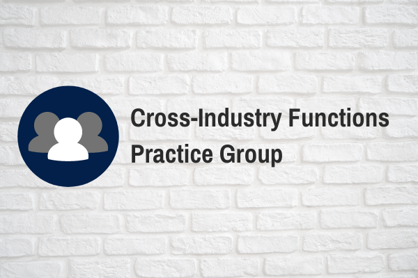 Cross-Industry Functions Call