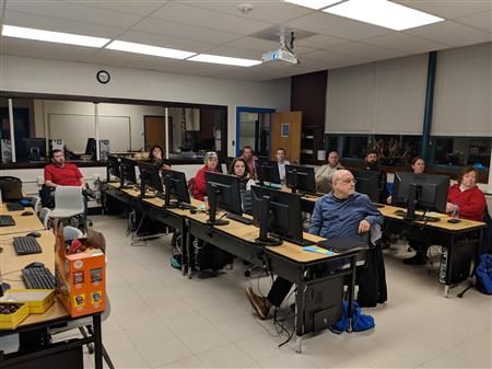 Mini EdCamp held at Scituate High School 2019