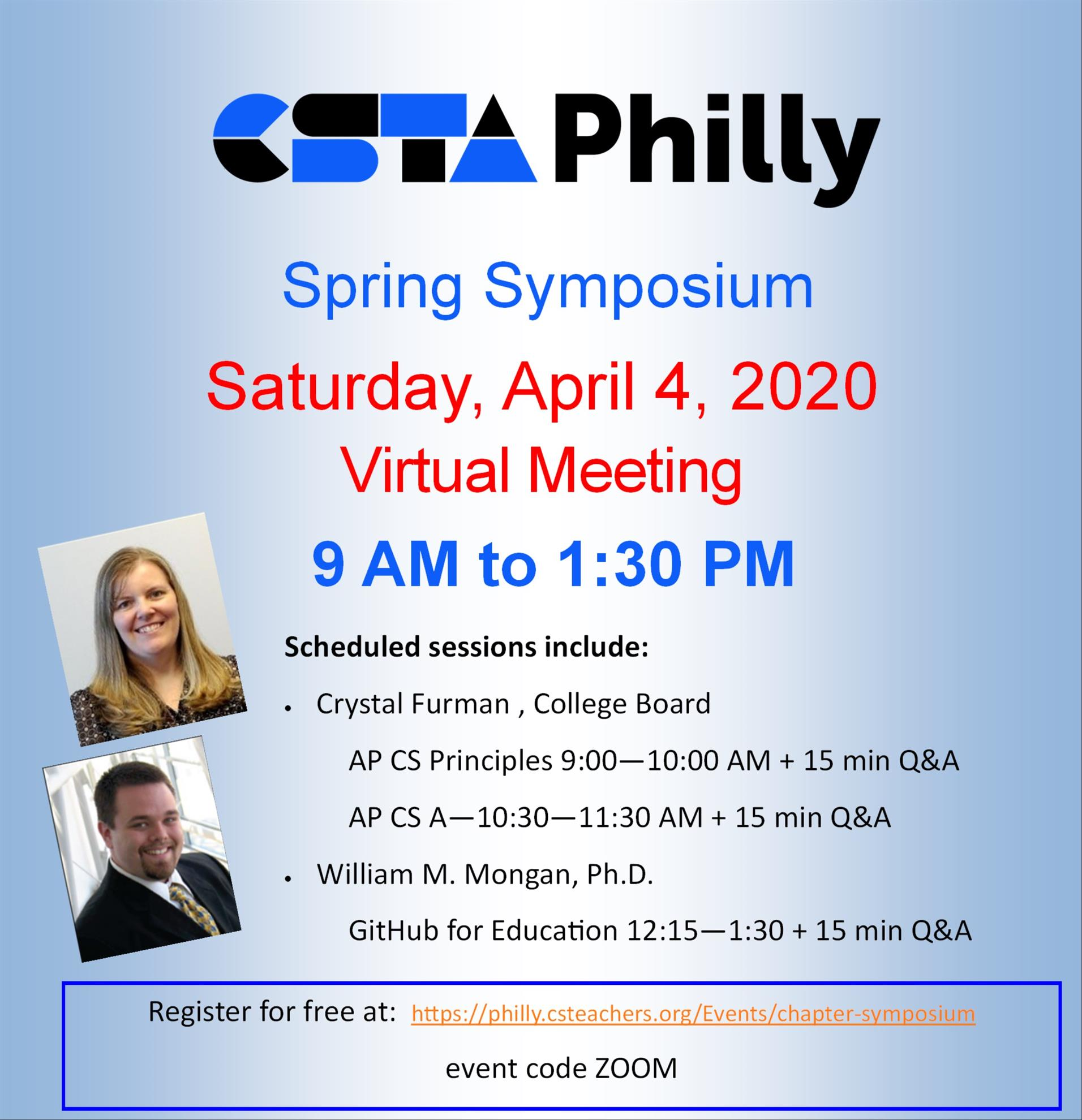 Chapter Symposium (CSTA Philly)