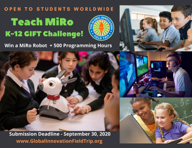 MiRo Robot Challenge for K-12 Students Submission Deadline