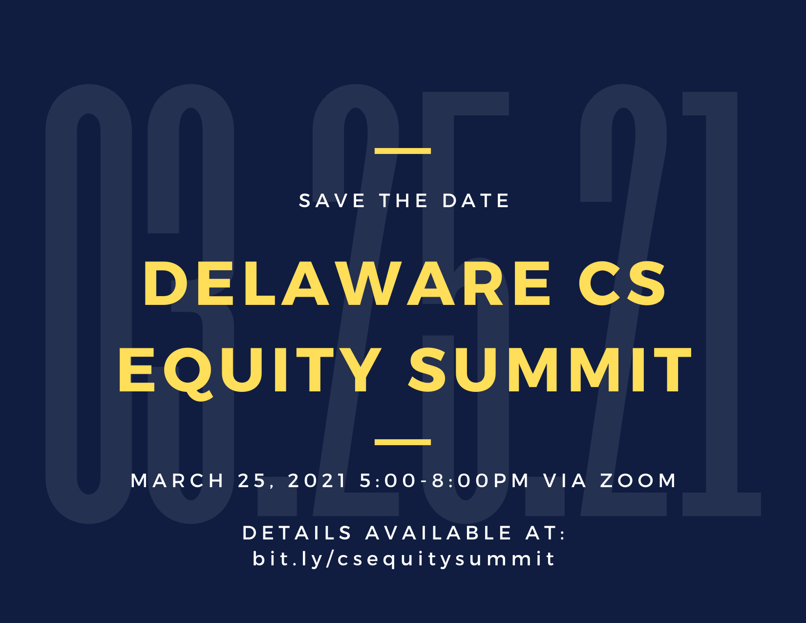 Equity in Computer Science Summit [hosted by CSTA Delaware] (CSTA Delaware)