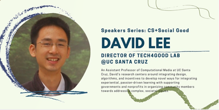 Bay Area Youth Computer Science Council Speaker Series: David Lee (CSTA San Mateo County (CA))