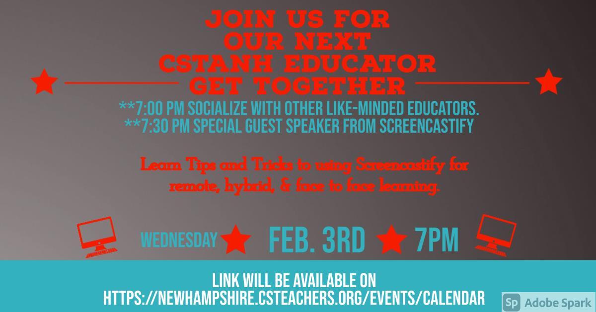 CSTANH Meetup (CSTA New Hampshire)
