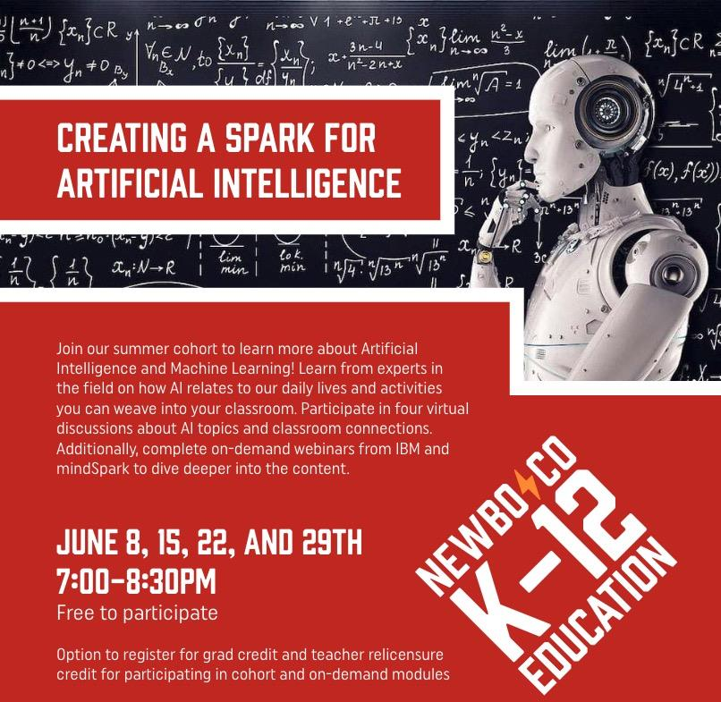 Creating a Spark for Artificial Intelligence in Iowa (CSTA Iowa)