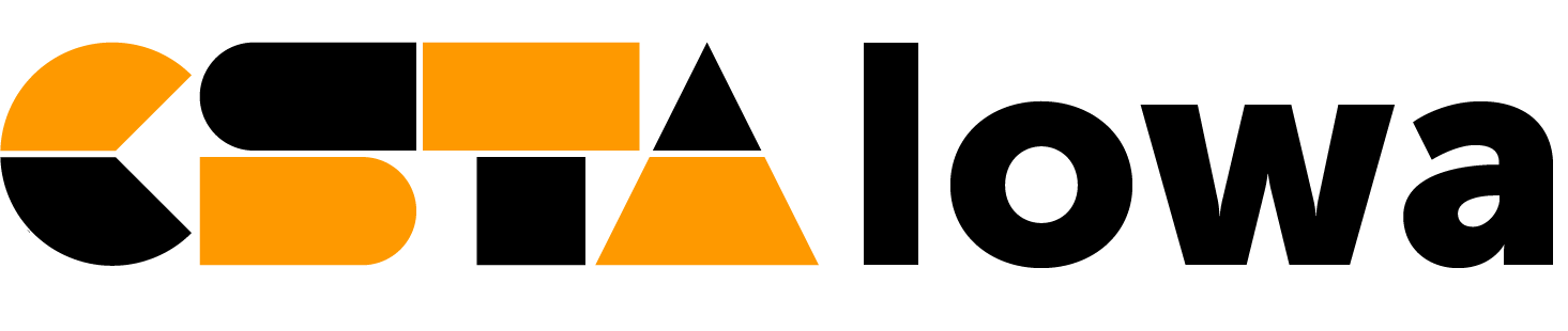 CSTA Iowa logo