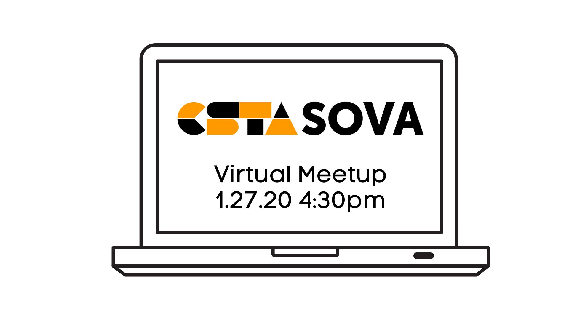 Virtual Meetup featuring ED Equity Talk with CodeVA (CSTA Southern VA)