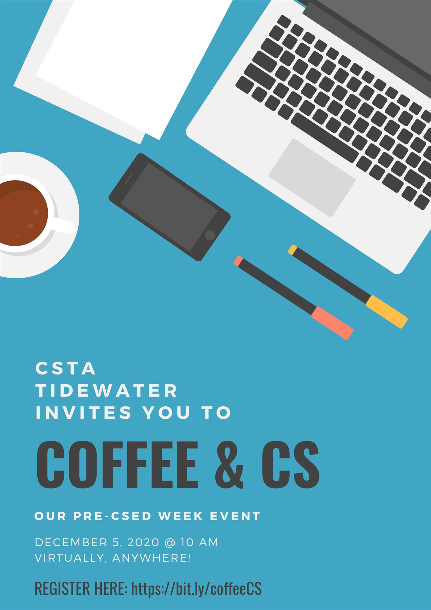 Coffee & CS (CSTA Tidewater Virginia)