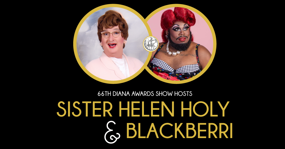 Co-hosts Sister Helen Holy and Blackberri