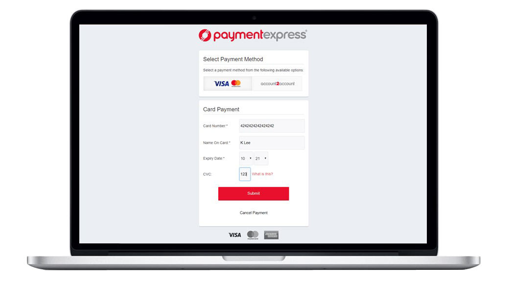 eCommerce Payment Express