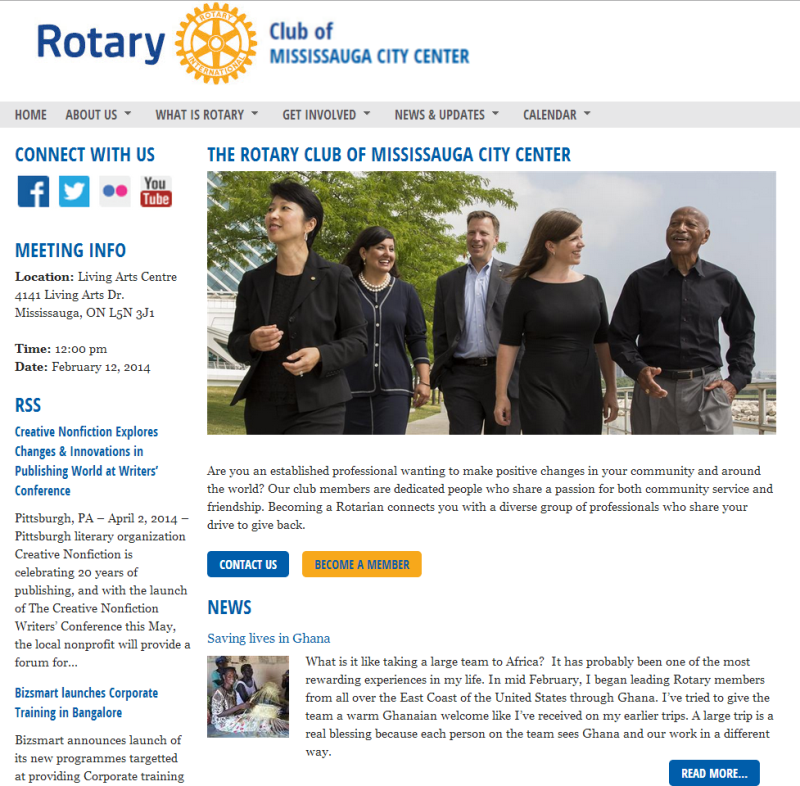 press release rotary theme clubrunner