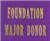 Major Donor